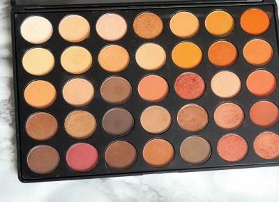 Paleta Morphe 35O Aliexpress|Blondeworld blog kosmetyczny