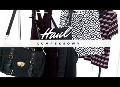 Blondeworld| Haul lumpeksowy| Wrzesień 2017