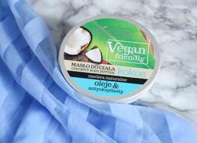 Masło do ciała i do włosów? Bielenda Vegan Friendly