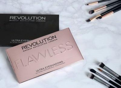 Makeup Revolution palety cieni Flawless i Affirmation
