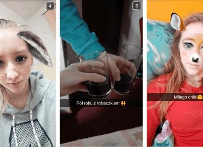 Carpe Diem: Podsumowanie ferii zdjęciami ze snapchata