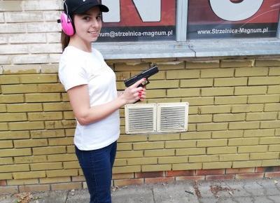 Blowerka: Pierwszy raz na strzelnicy, czyli #chc?toprze?y?