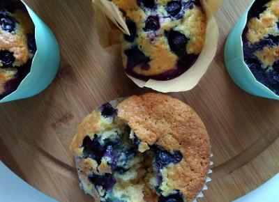 Blowerka: Najlepsze muffinki z borówkami amerykańskimi