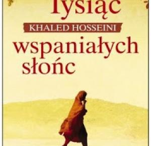 Tysiąc wspaniałych słońc - Khaled Hosseini | Books My Love