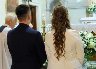 Jak wyglądała moja fryzura ślubna? | Borovie