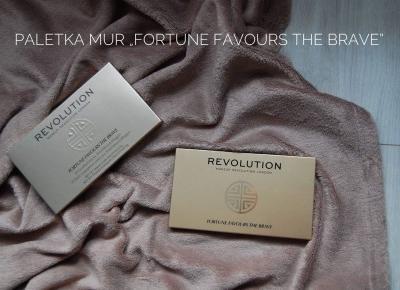 """Recenzje przy herbacie: Paletka MUR ''Fortune Favours The Brave"""""""