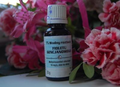 Recenzje przy herbacie: Ochładzanie włosów fioletem gencjanowym