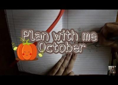 PLAN WITH ME OCTOBER | ZAPLANUJ ZE MNĄ PAŹDZIERNIK