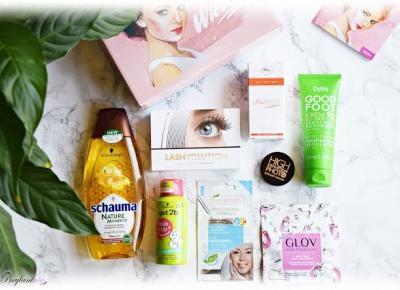 Blog Brylantina: Witaj Pani Wiosno! Przegląd marcowego pudełeczka ShinyBox!