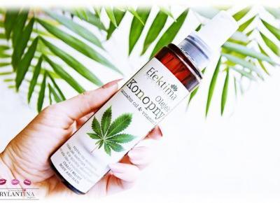 Blog Brylantina: Olejek konopny z witaminą E | Efektima