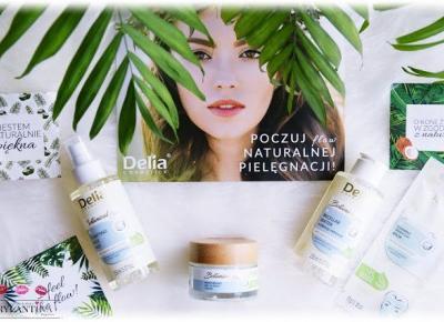 Blog Brylantina: Kokosowa linia pielęgnacyjna Botanical Flow | Delia Cosmetics