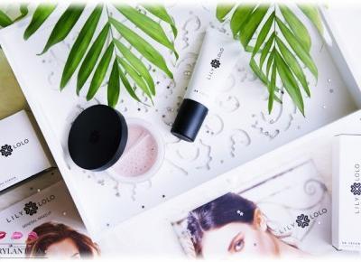 Blog Brylantina: Kosmetyki mineralne | Krem BB i Puder Flawless Silk | Lily Lolo