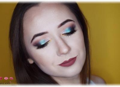 Blog Brylantina: Makijaż karnawałowy | Pigmenty MySecret, KoboProfessional
