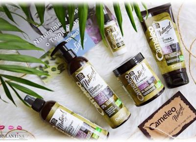 Blog Brylantina: Naturalna linia do włosów | Cameleo Detox | Delia Cosmetics