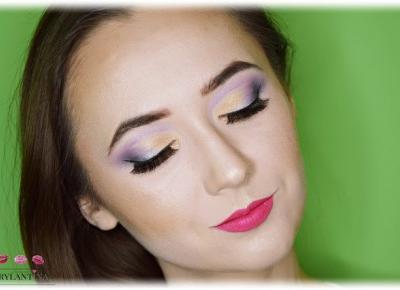 Blog Brylantina: Rozświetlony makijaż | Cienie Mexmo - Queen, Turaco, Etheral