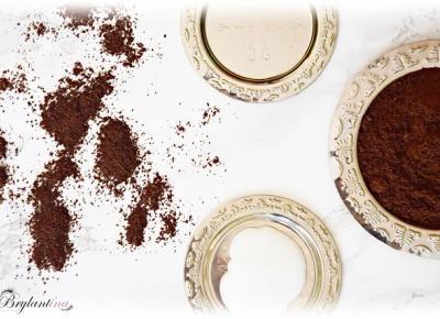 Blog Brylantina: Uzależniający peeling kawowy dla ciała i zmysłów DIY #1