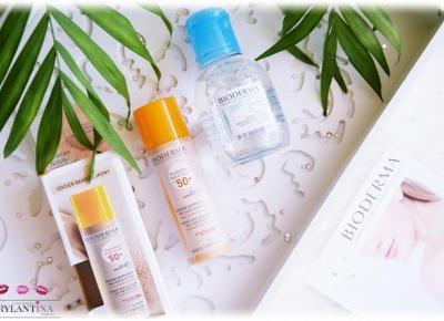 Blog Brylantina: Kosmetyki na WAKACJE | Ochrona przeciwsłoneczna i makijaż | Bioderma