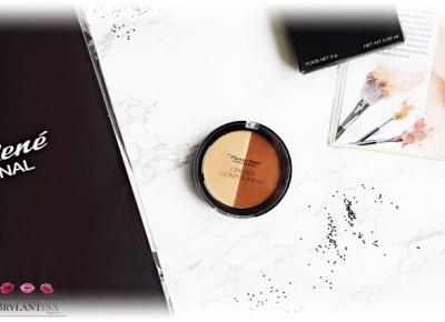 Blog Brylantina: Paleta do modelowania konturu twarzy Cream Contouring | Pierre Rene