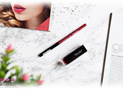 Blog Brylantina: Konturówka Lip Matic oraz pomadka do ust Hydra Elegance | Pierre Rene