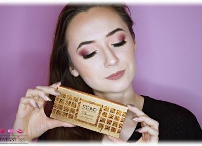 Blog Brylantina: Makijaż studniówkowy | Paleta Shine On | Kobo Professional