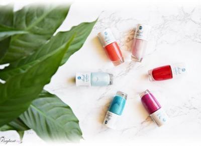 Blog Brylantina: Edycja limitowana Secret Garden Bell - Biedronkowe lakiery do paznokci