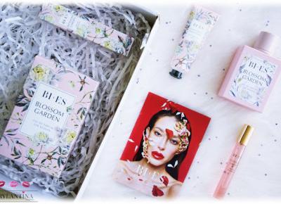 Blog Brylantina: NOWOŚĆ | Perfumy BLOSSOM GARDEN w cygaretce i Wygładzający krem do rąk | Bi-es