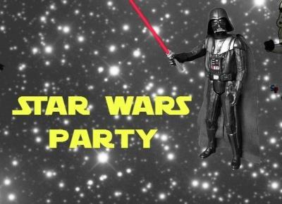 Star wars party - jak zrobić dziecku super urodziny