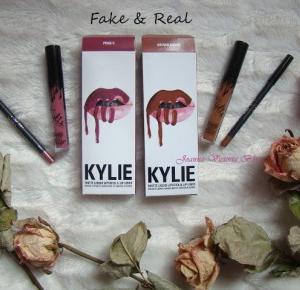 Kylie Lip Kit - ORYGINAŁ vs PODRÓBKA z Aliexpress