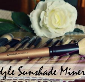 Sunshade minerals makeup brushes