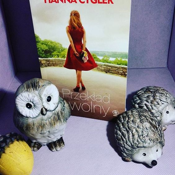 Lifestyle by Ladyflower.: Kącik czytelniczy: Hanna Cygler