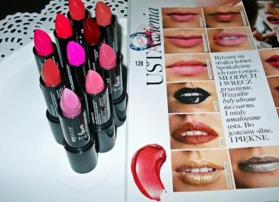 Recenzja: My Secret I Love Matte Lips - matowe pomadki. | Lifestyle by Ladyflower.