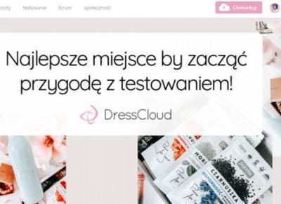 DressCloud – recenzje, testowanie i kosmetyczne nowinki. – Ladyflower.pl