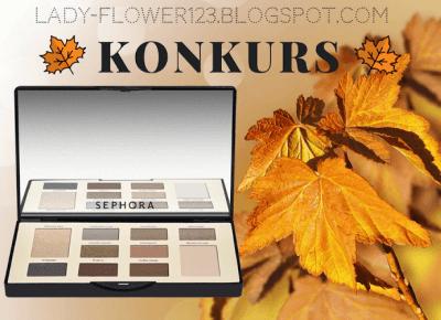 Jesienny konkurs z paletą cieni. | Lifestyle by Ladyflower.