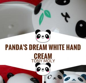 Lifestyle by Ladyflower.: Recenzja: TONY MOLY - Panda's Dream White Hand Cream.