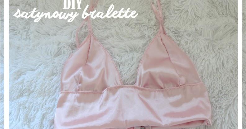 Carolyn Dolly: DIY SATIN BRALETTE/TOP