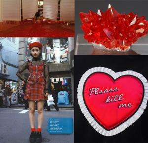 Carolyn Dolly: MONTHLY INSPIRATIONS: RED