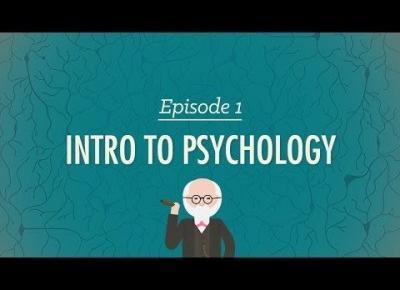 Intro to Psychology - Crash Course Psychology || Złoty YouTube (1)