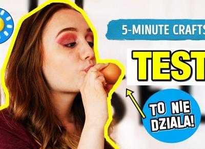 TESTUJE SZTUCZKI Z KANAŁU 5-MINUTE CRAFTS! 2
