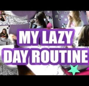 ♡ MY LAZY DAY  ROUTINE ♡