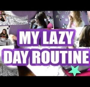 ♡ MY LAZY DAY ROUTINE ♡