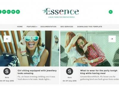 Essence Responsive Blogger Template - Personal Blog – Centrum Blogera