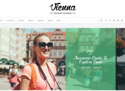 Vienna Blogger Template Free - Personal Blog – Centrum Blogera