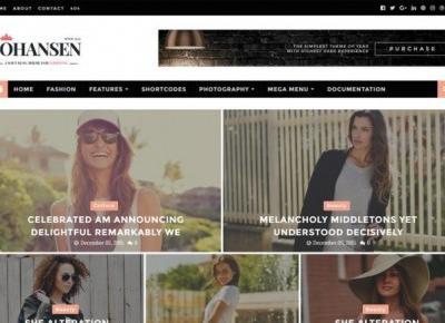 Johansen Responsive Blogger Template – Centrum Blogera