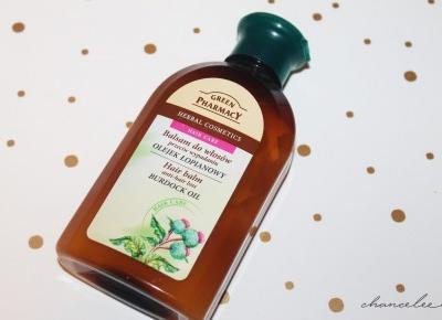 Etykiety pod lupą: Green Pharmacy - Balsam do włosów przeciw wypadaniu | Chanceleee