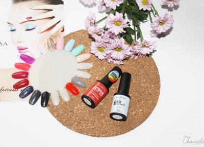 Jesienny manicure lakierami hybrydowymi Claresa | Chanceleee