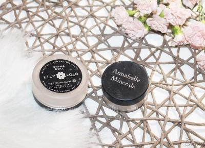 Lily Lolo, Annabelle Minerals - porównanie dwóch podkładów mineralnych  | Chanceleee