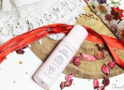L'Erbolario kwas hialuronowy oczyszczający mus do mycia twarzy | Chanceleee