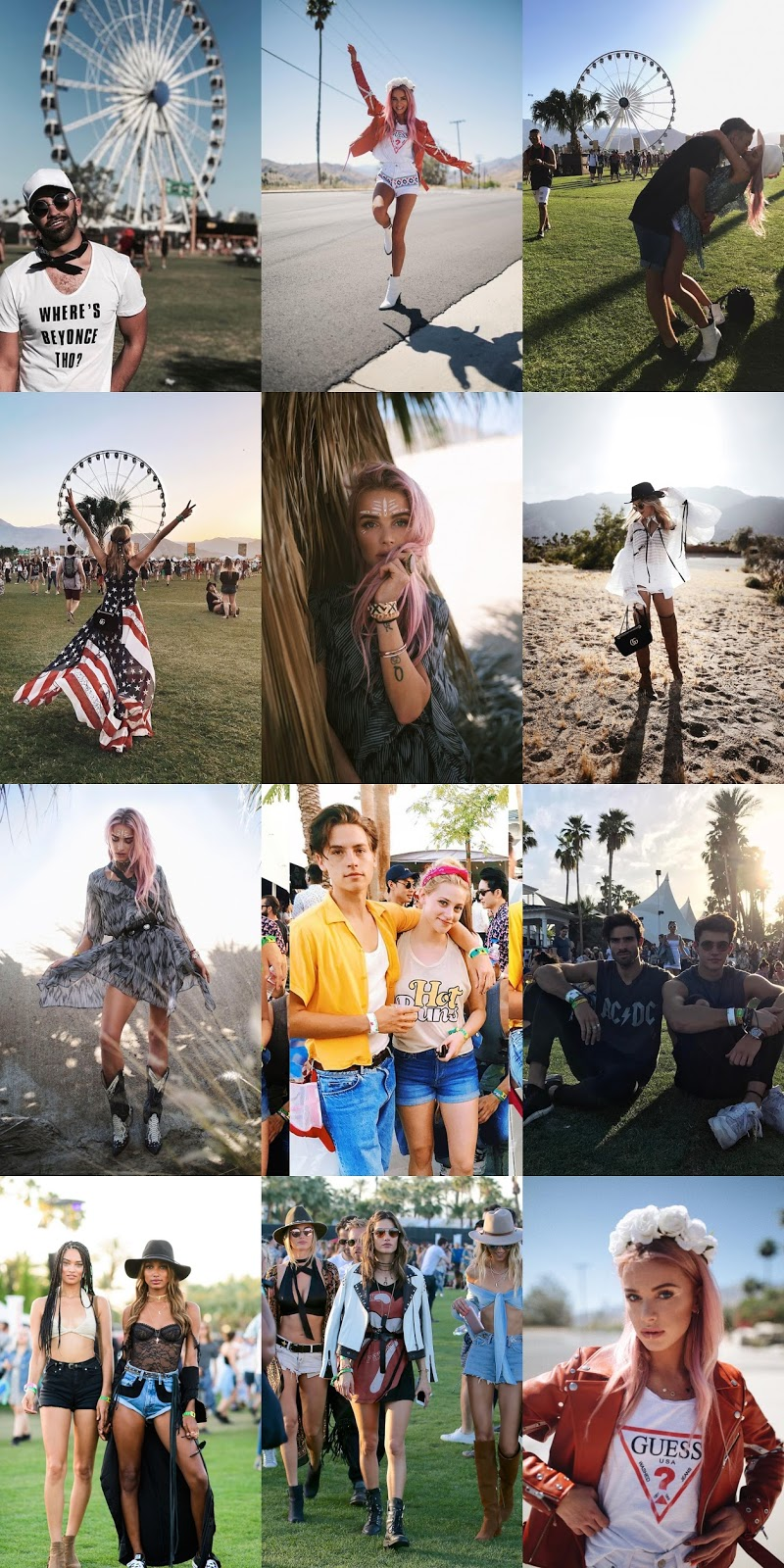 Coachella festival 2017 #1 - always be yourself