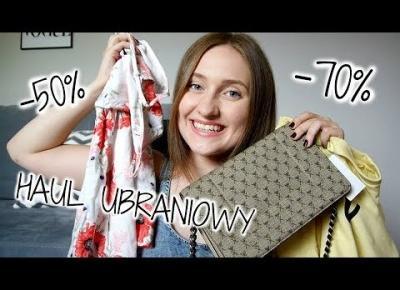 WAKACYJNY TRY-ON HAUL | -70% H&M, Bershka