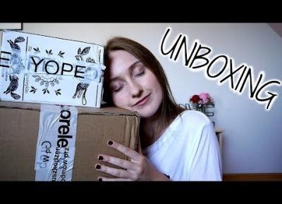 #2 UNBOXING | YOPE, PĘDZLE, PIELĘGNACJA